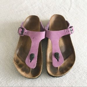 Birkenstock Papillo Purple Sandals